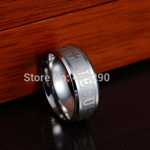 Other - Brand New Men's Jesus Cross Ring Size 10